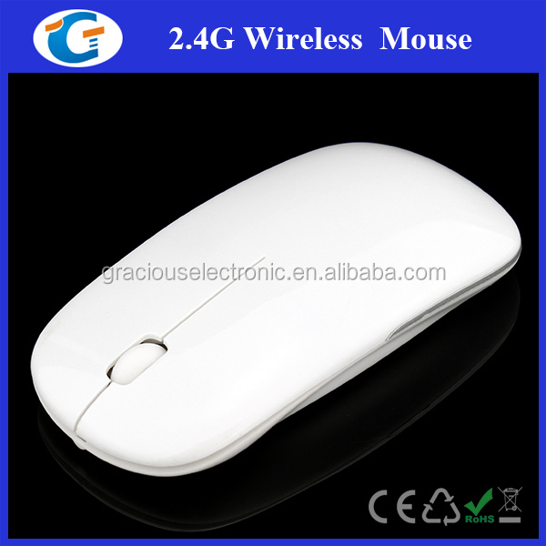 Elegant Slim Comfort Grip Wireless Optical Mouse For Laptop PC