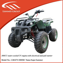 used farm water-cooled quad atv with CE
