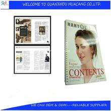 Fanny children magazine printing service/colorful adult comic cheap photo books/softcover magazine printing with jacket