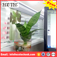 Wedding decoration fiber glass flower vase for home decoration