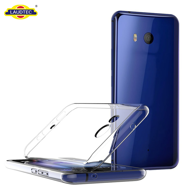 Transparent Silicone Cover For HTC U11 Clear Case
