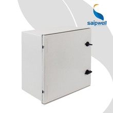 Saipwell Fiberglass Box Three Phase Electric Meter Box IP66 Waterproof Outdoor Electric Meter Box