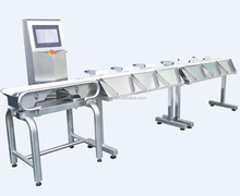 Weight sorting machine for fresh seafood,shrimp etc JZW-6FX