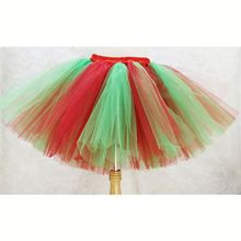 Toddler Baby Christmas Tutu Skirts Kids Girls Tutu Dresses Lace Latest Designs Girls Baby Clothes