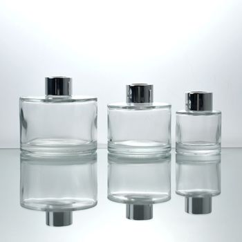 home decoration clear dropper glass perfume diffuser bottle