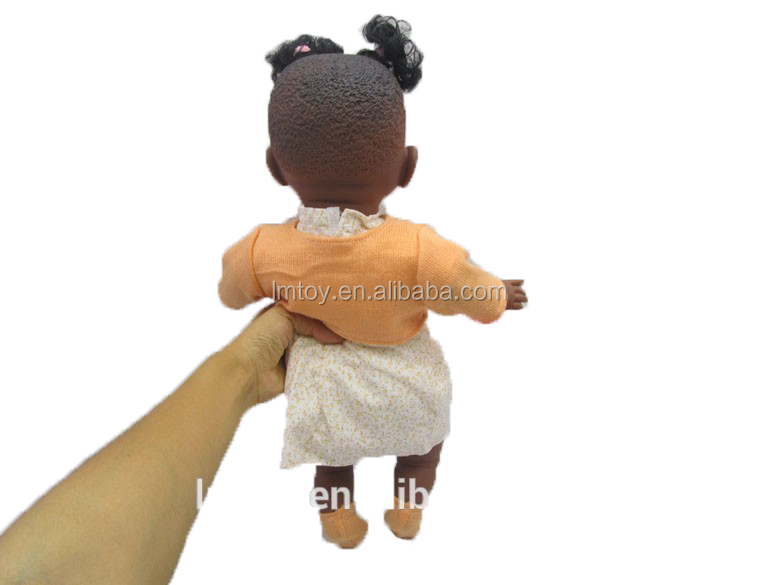 Fashion Doll Lovely Baby,New Style Orange Dress Baby Dolls W41521A