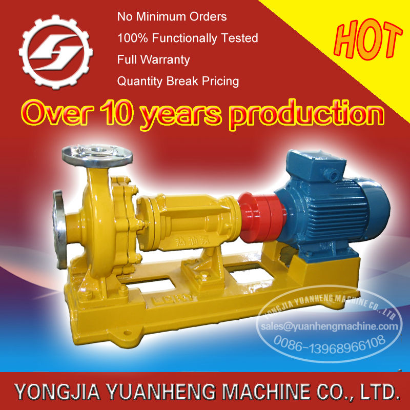 centrifugal type hot oil pump/thermal oil pump