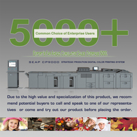 seap cp9000 color flyer poster printing machine price for sale