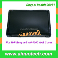 laptop lcd back cover for hp Envy m6 m6-1000 A Cover with hinge Laptop D Cover bottom case
