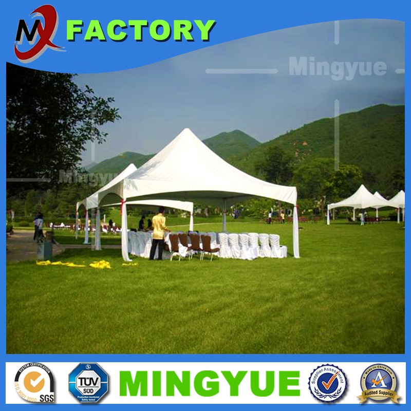 High quality low price party Fashion fireproof white PVC pagoda tent for 100 people