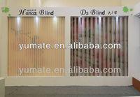 Beautiful and Elegant new design of soft vertical blind / Hanas blind window blinds