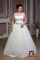 New collection Italy design Ball gown Wedding Dress / Bridal Gown Plus size