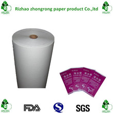 cleaning bag/sickness bag/waste bag raw material pe coated paper