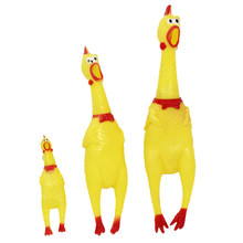 30cm 17cm 41cm Screaming Chicken Squeeze Sound Toy Pets Toy Product Dog Toys Shrilling Decompression Tool Funny Gadgets