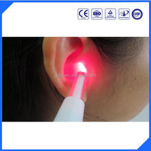 semiconductor laser treatment instrument for treatment of hearing loss