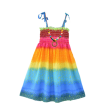 Children's Beach <strong>Dress</strong> Bohemian <strong>Girl's</strong> Seaside Holiday Princess <strong>Girl's</strong> Broken Flower <strong>Dress</strong>