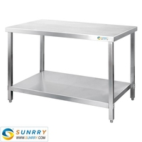 Flexible Size For Working Table/Office Kitchen Tables/Kitchen Service Table (SY-WT818S SUNRRY)