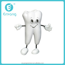 2014 New Product Cheapest Stress Ball Tooth Figure