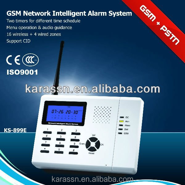 GSM Alarm System PSTN alarm wireless KS-899 L-71