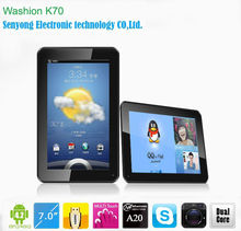 7 inch A20 Dual Core Android 4.2 Tablet