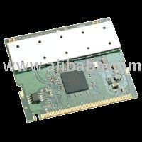802.11 b/g/n, 3T3R Mini PCI Wireless Card with Athros AR5416 and AR2133 chip