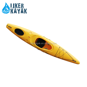 Single big cockpit Crossover3.9 sea/ocean style's whitewater kayak