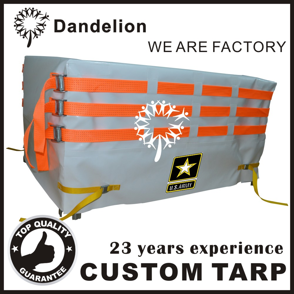 custom canvas vinyl oxford poly tarp truck cover pvc tarpaulin