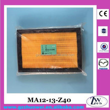 2013 New Model Haima 3 Air Filter Car Air Filter Element for Mazda 3 MA12-13-Z40