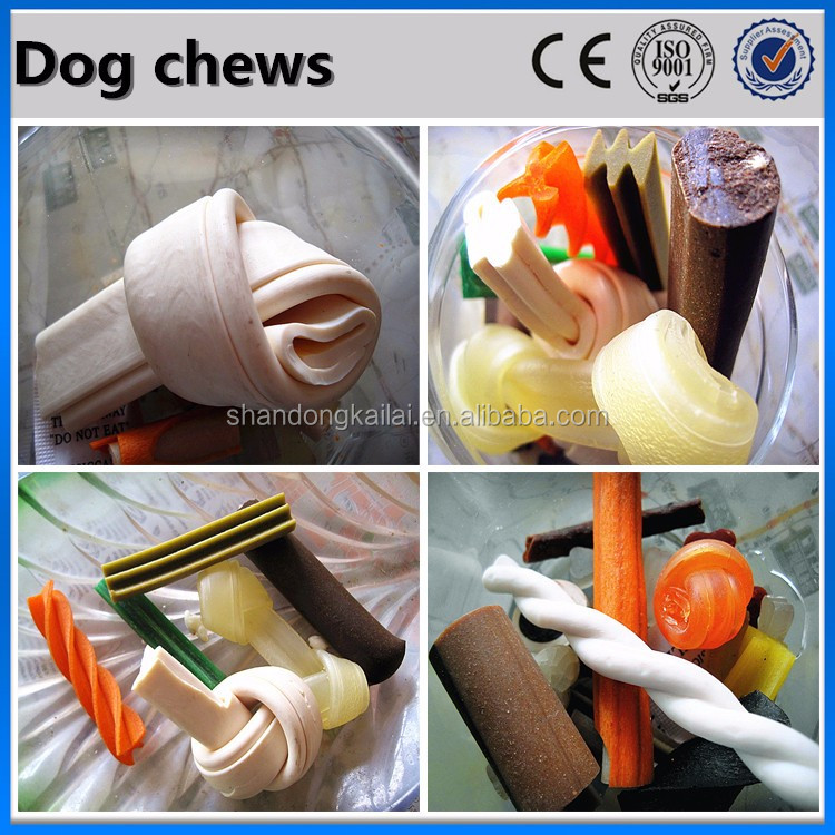 2016 CE China Flavored Squeaky Dog Chew Machine