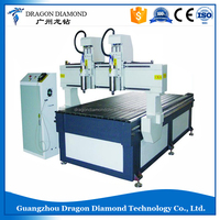 1325-2 Multi-Spindle CNC Route / cnc two heads engraving machine / wood router LZ-1325-2