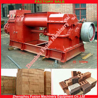 High efficiency vacuum extruder for clay brick making machine