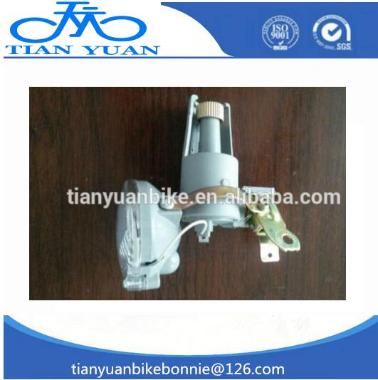 No Battery Eco Friedly LED Bicycle Light With Dynamo generator