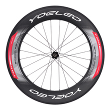 2016 New SAT Yoeleo Carbon Clincher Rear 88mm Wheel With DT Swiss 240Hub+Sapim Spoke