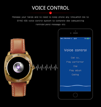 Smart watch DM88 touch screen smartwatch DM88 with voice control remote camera for ios and android