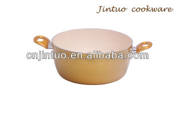 Aluminum Super capsule bottom cookware