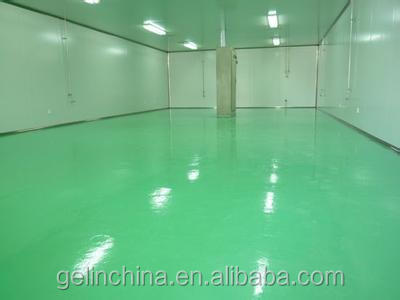 Solventless Epoxy Self-leveling Flooring for parking lot