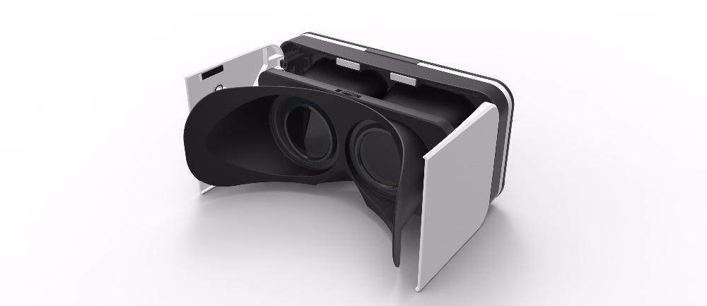 Factory Wholesale Comfortable Wearing Folding Portable Mini VR for iphone 6 iphone 7 plus Virtual Realiy 3D Glasses