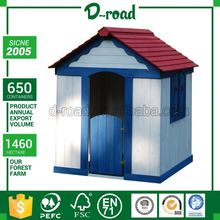 Wholesale Price Custom Made Cheap Kids Wooden Playhouses