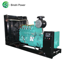 120KW biogas fired generator with desulfur
