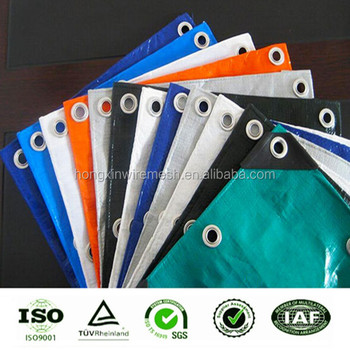 printable HDPE PE PVC woven fabric waterproof laminate sheets pe tarpaulin China