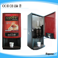 Best price !!!2 hot drinks commercial saeco coffee machine with CE SC-7902