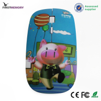 Super Slim Cute Cheap Optical pig pet Computer Mouse