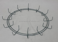 wholesale large hanging metal wire wreath ring(factory)