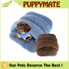 Cute pet sleeping bag beds Cashmere sleeping dog and cat dog beds