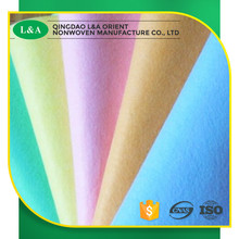 Viscose And Polyester Needle Punched Felt Nonwoven Fabric Cleaning Cloth