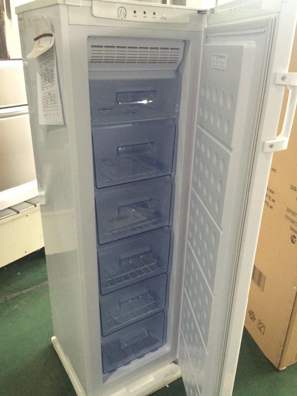 frost mini upright freezers vertical deep freezer with drawers - Upright Deep Freezer