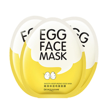 OEM Bioaqua face care products Egg nourishing Smooth deep moisturizing facial mask