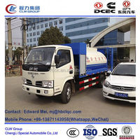 dongfeng 4*2 4*4 type 95Hp 4000 liter iso bitumen containers