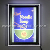 Wholesale Abibaba Backlit LED crystal indoor display beautiful photo frames led light advertising board sign board acryl