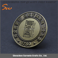 Made In China Newest product factory direct sale metal lapel pin badge